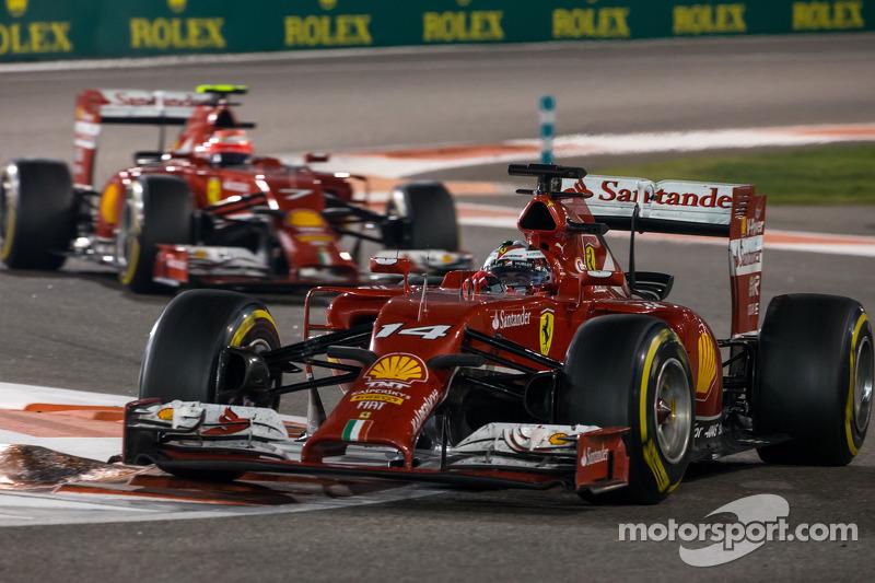 Fernando Alonso, Ferrari F14-T at Abu Dhabi GP
