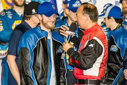 Kampioenschap victory lane: Dale Earnhardt Jr.