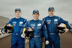 Igor Leonov, Andrey Karginov et Andrey Mokeev