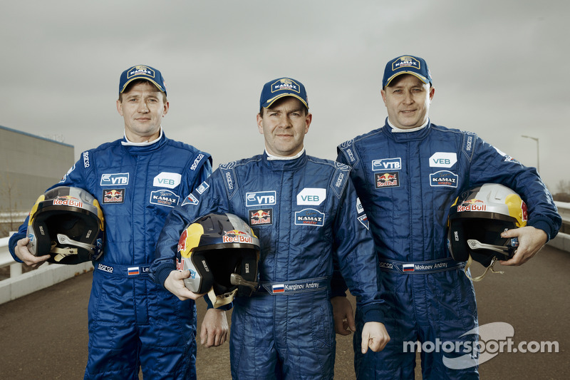 Igor Leonov, Andrey Karginov y Andrey Mokeev