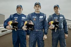 Andrey Aferin, Dmitry Sotnikov et Igor Devyatkin