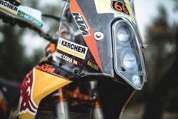 Red Bull KTM Factory moto detalhe
