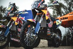 Red Bull KTM fabrika motor detayı