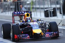 Carlos Sainz Jr, Red Bull Racing RB10, piloto de pruebas