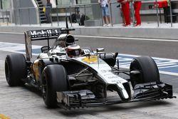 Stdefel Vandoorne, piloto de pruebas del McLaren MP4-29H