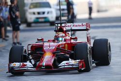 Raffaele Marciello pilota addetto ai test della Ferrari F14-T