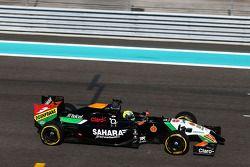 Spike Goddard, Sahara Force India F1 VJM07, Testfahrer, testet den Info Wing