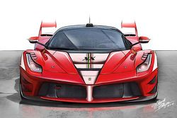 Ferrari LaFerrari XX, diseño concepto