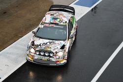 Marco Bonanomi y Biagio Maglienti, Ford Fiesta WRC