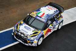 Tony Cairoli y Matteo Romano, Citroën DS3 WRC