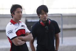 Takuya Izawa, met Nobuharu Matsushita, ART Grand Prix