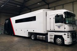Marussia transporter up for auction