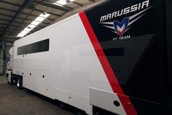 Marussia, transporte en subasta