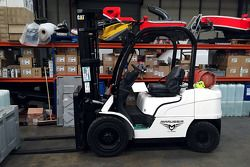 Marussia forklift up for auction