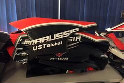 Marussia, partes y equipo en subasta