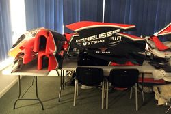Marussia parts and equipment up for auction
