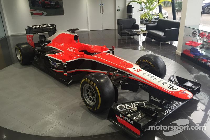 Marussia, autos y equipo en subasta