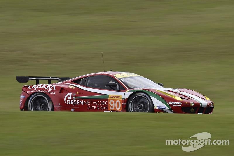 #90 8 Star Motorsports Ferrari 458 Italia: Gianluca Roda, Paolo Ruberti, Matteo Cressoni
