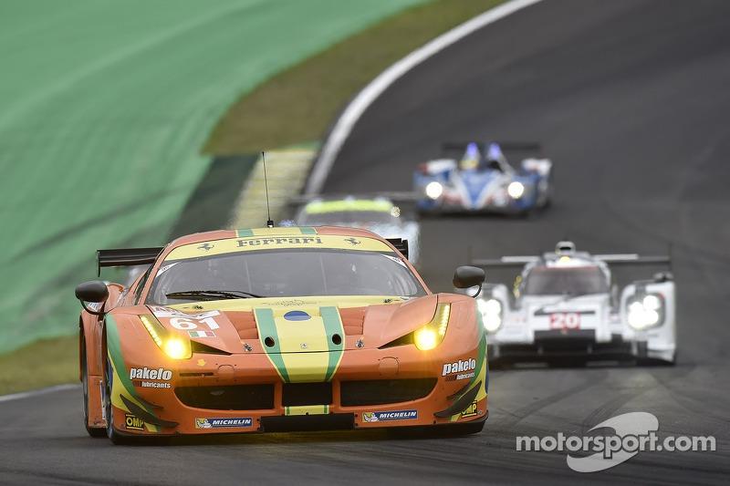 A última corrida disputada por Emerson na carreira foi em 2014. Ele andou na Ferrari #61 da AF Corse com o italiano Alessandro Pier Guidi e o norte-americano Jeff Segal. O time finalizou em sexto e último na LMGTE-Am.