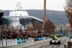 梅赛德斯AMG F1 W05车手刘易斯·汉密尔顿