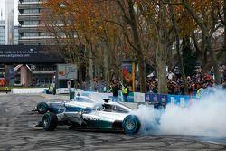 Nico Rosberg et Lewis Hamilton, Mercedes AMG F1 W05