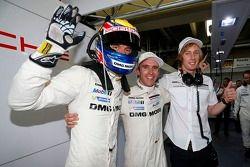 Timo Bernhard, Brendon Hartley, Mark Webber