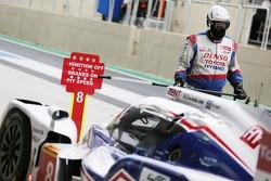 #8 丰田车队 丰田 TS040-Hybrid: 安东尼·戴维森, 塞巴斯蒂安·布耶米