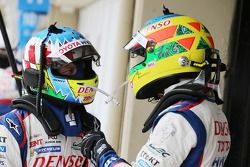 Alexander Wurz and Mike Conway, Toyota Racing