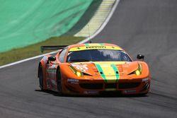 #61 AF Corse Ferrari 458 Italia: Jeff Segal, Alessandro Pier Guidi, Emerson Fittipaldi