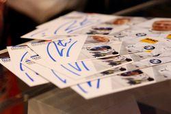 BMW DTM drivers autographs