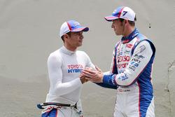 Stéphane Sarrazin, Alexander Wurz, Toyota Racing