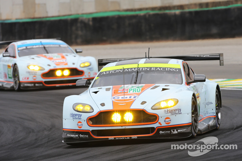#97 AMR Aston Martin Vantage: Stefan Mücke, Darren Turner