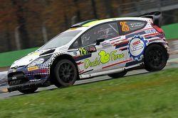 Gigi Galli et Tamara Molinaro, Ford Fiesta WRC