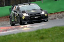 Kurt Busch y Rihanon Gelsomeno, Ford Fiesta WRC