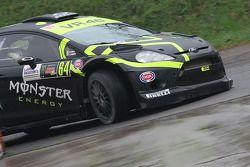 Alessio Salucci y Mitia Dotta, Ford Fiesta WRC