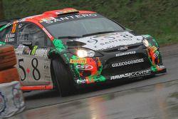 Alessandro Bosca et Roberto Aresca, Ford Fiesta WRC