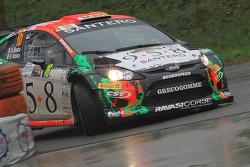 Alessandro Bosca e Roberto Aresca, Ford Fiesta WRC