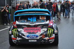 Ken Block e Alex Gelsomino, Ford Fiesta WRC