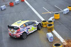 Gigi Galli y Tamara Molinaro, Ford Fiesta WRC
