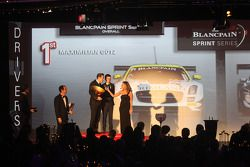 Blancpain Sprint Series - pódio dos pilotos (geral)