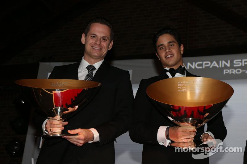 Blancpain Sprint Serisi-Pro-Am Kupası pilotlar şampiyonu Marc Basseng, Alessandro Latif
