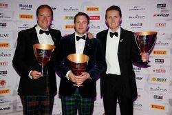 Terceros de la Blancpain Endurance Series Pro-Am Cup: Andrew Smith, Alisdair McCaig, Oliver Bryant