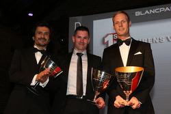 Blancpain Endurance Series-Pro Cup - terceiro entre os pilotos: Stéphane Ortelli, Gregory Guilvert,