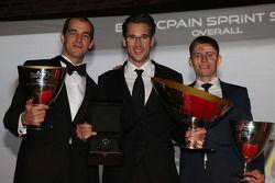 Blancpain Sprint Series - pódio dos pilotos: Jeroen Bleekemolen, Maximilian Buhk, Maximilian Götz
