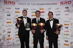 Blancpain Sprint Series - Grasser Racing Team, Sascha Halek, Gottfried Grasser, Jeroen Bleekemolen