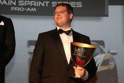 Blancpain Sprint Series-Pro-Am Cup drivers 2nd Sascha Halek