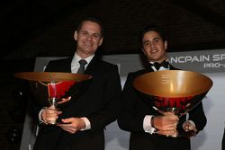 Blancpain Sprint Series-Pro-Am Cup, campeones; Marc Basseng, Alessandro Latif