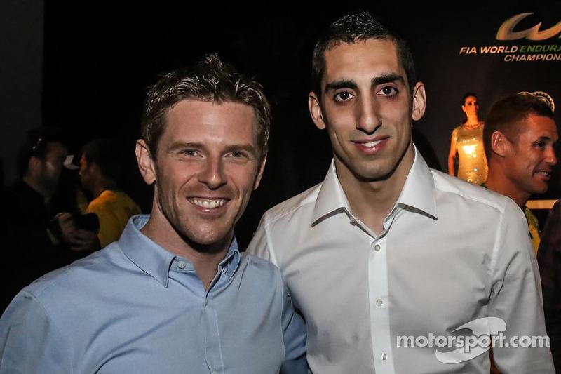 2014 champions Anthony Davidson, Sebastien Buemi, Toyota Racing