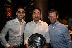 Anthony Davidson, Sebastien Buemi, Toyota Racing, campeões de 2014