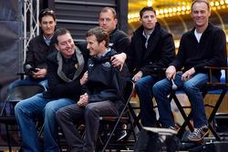 Joey Logano, Kyle Busch, Kasey Kahne, Ryan Newman, Denny Hamlin, Kevin Harvick
